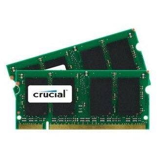 Crucial SO-DIMM 1GB DDR2 800MHz CL6 - CT12864AC800