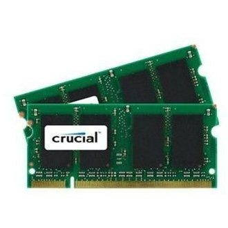 Crucial SO-DIMM 4GB KIT DDR2 667MHz CL5 - CT2KIT25664AC667