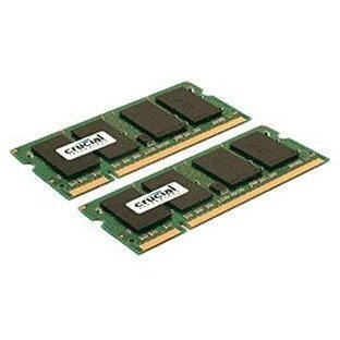 Crucial SO-DIMM 8GB KIT DDR2 800MHz CL6 - CT2KIT51264AC800