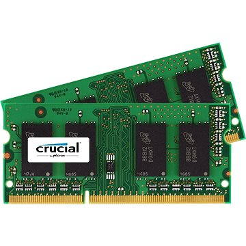 Crucial SO-DIMM 8GB KIT DDR3 1066MHz CL7 pro Mac (CT2C4G3S1067MCEU)