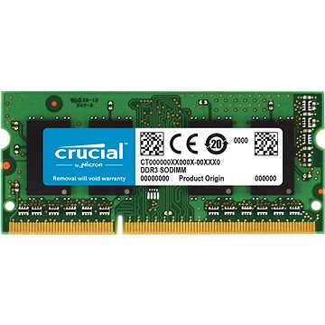 Crucial SO-DIMM 4GB DDR3 1600MHz CL11 (CT51264BF160B)