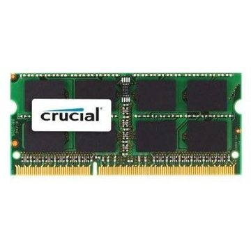 Crucial SO-DIMM 8GB DDR3 1600MHz CL11 Dual Voltage pro Apple/Mac