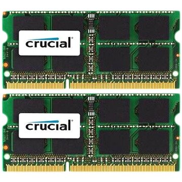 Crucial SO-DIMM 32GB KIT DDR3L 1866MHz CL13 pro Mac (CT2C16G3S186DM)