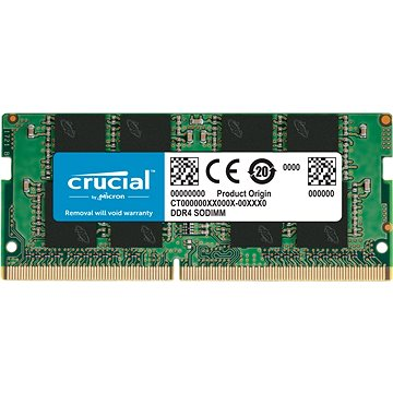 Crucial SO-DIMM 16GB DDR4 2400MHz CL17 Dual Ranked (CT16G4SFD824A)