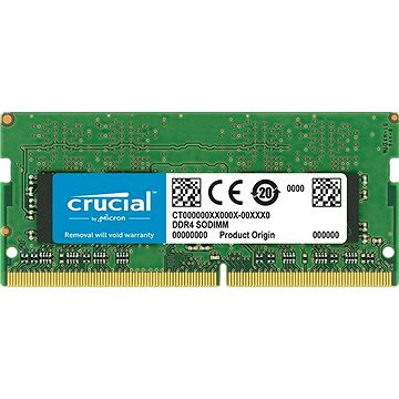 Crucial SO-DIMM 16GB DDR4 2666MHz CL19 Dual Ranked (CT16G4SFD8266)
