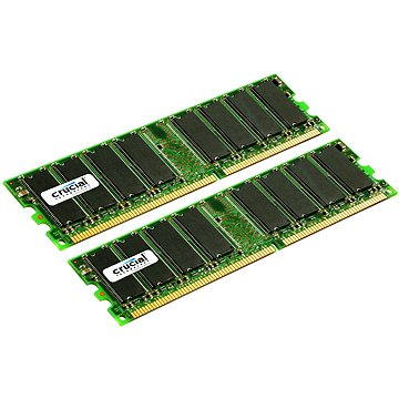 Crucial 2GB KIT DDR 333MHz CL2.5 - CT2KIT12864Z335