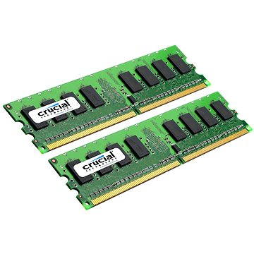 Crucial 2GB KIT DDR2 667MHz CL5 - CT2KIT12864AA667