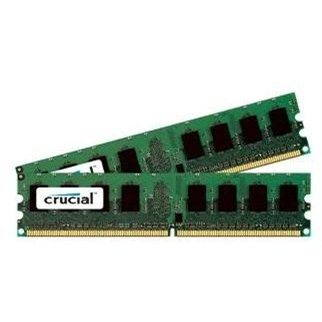Crucial 2GB KIT DDR2 800MHz CL6 - CT2KIT12864AA800
