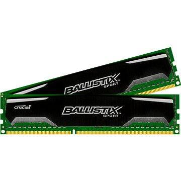 Crucial 8GB KIT DDR3 1600MHz CL9 Ballistix Sport