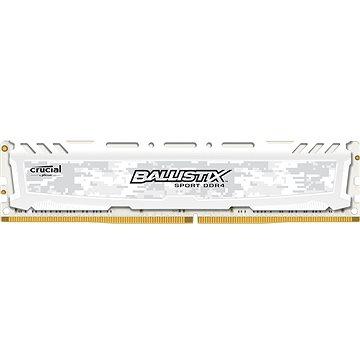 Crucial 8GB DDR4 2400MHz CL16 Ballistix Sport LT White (BLS8G4D240FSCK)
