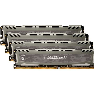 Crucial 16GB KIT DDR4 2400MHz CL16 Ballistix Sport LT Single Ranked (BLS4C4G4D240FSB)