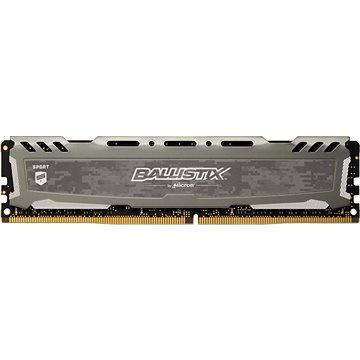 Crucial 8GB DDR4 3200MHz CL16 Ballistix Sport LT Grey (BLS8G4D32AESBK)