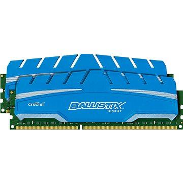 Crucial 16GB KIT DDR3 1600MHz CL9 Ballistix Sport XT (BLS2C8G3D169DS3CEU)