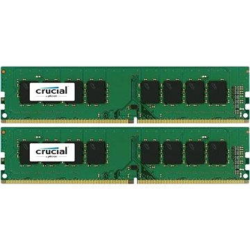 Crucial 8GB KIT DDR4 2400MHz CL17 Single Ranked (CT2K4G4DFS824A)