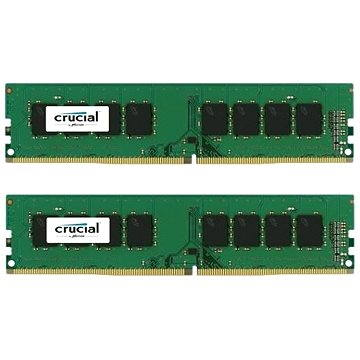 Crucial 16GB KIT DDR4 2400MHz CL17 Single Ranked x8 (CT2K8G4DFS824A)