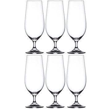 Crystalex Sklenice na pivo LARA 380ml 6ks (40415/380)