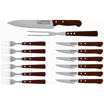 CS Solingen Sada steakových příborů nerez 14 ks CS-070243 (CS-070243)