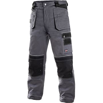 CXS Kalhoty do pasu ORION TEODOR šedo-černé
