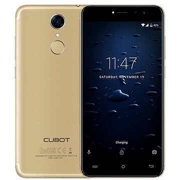 Cubot Note Plus Dual SIM LTE Gold (PH3714)