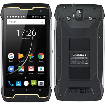 Cubot King Kong Dual SIM Waterproof Black (PH3777)