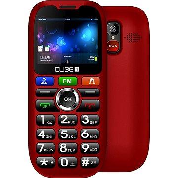 CUBE1 S100 Senior červená (MTOSCUS100051)