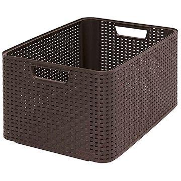 Curver Úložný box Rattan Style2 L 03616-210