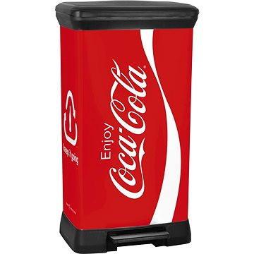 Odpadkový koš Curver Odpadkový koš DECOBIN pedal COCA COLA (02162-C14)