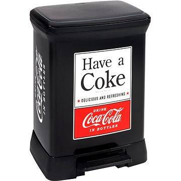 Odpadkový koš Curver Odpadkový koš DECOBIN pedal COCA-COLA (02164-C14)