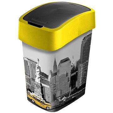Odpadkový koš Curver Odpadkový koš 25l Flipbin New York (02171-N27)