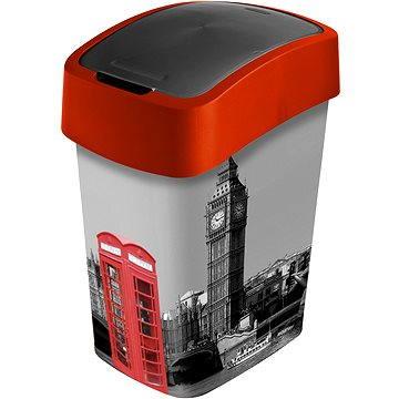 Odpadkový koš Curver Odpadkový koš 25l Flipbin London (02171-L11)