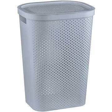 Curver Koš na špinavé prádlo INFINITY 59L - šedý (04754-099-00)