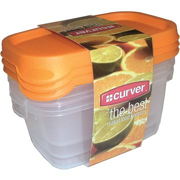 CURVER TAKE AWAY FOODK 3x0.5L MIX (07609-729-66)