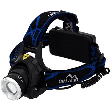 Cattara Čelovka LED 570lm ZOOM (8591686131239)