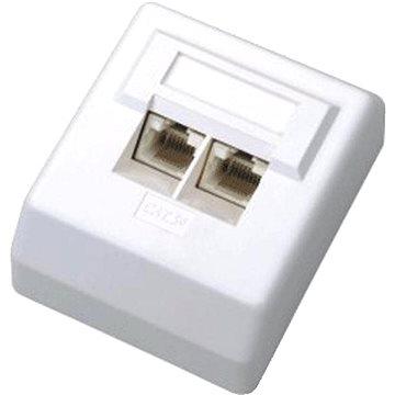 Datacom Datová zásuvka UTP CAT5E na omítku 2000 (2000)