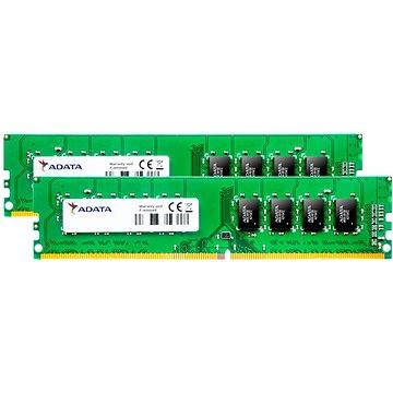 ADATA 16GB KIT DDR4 2400MHz CL17 (AD4U240038G17-2)