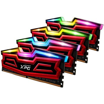 ADATA 32GB KIT DDR4 3000MHz CL16 XPG SPECTRIX D40, červená (AX4U300038G16-QRS)