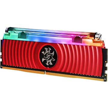 VYROBA ADATA XPG 16GB DDR4 3200MHz CL16 SPECTRIX D80 Liquid-Cooled, červená (AX4U320038G16-DR80)