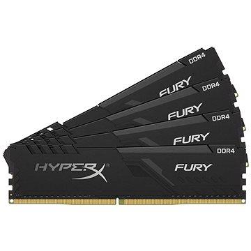 HyperX 16GB KIT DDR4 2400MHz CL15 FURY series (HX424C15FB3K4/16)