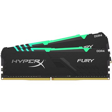 HyperX 16GB KIT DDR4 3200MHz CL16 RGB FURY series (HX432C16FB3AK2/16)