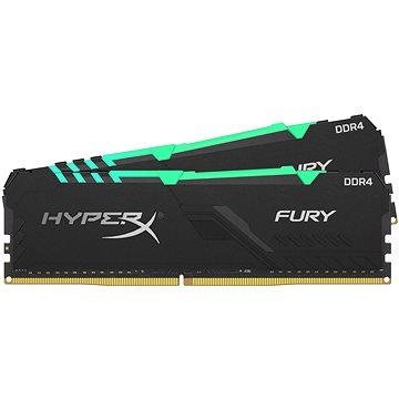 HyperX 16 GB KIT DDR4 3 733 MHz CL19 FURY RGB series(HX437C19FB3AK2/16)