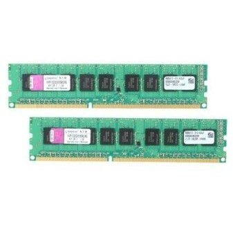 Kingston 16GB KIT DDR3 1333MHz CL9 ECC - KVR1333D3E9SK2/16G