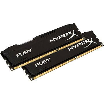 HyperX 8GB KIT DDR3L 1600MHz CL10 Fury Black Series (HX316LC10FBK2/8)