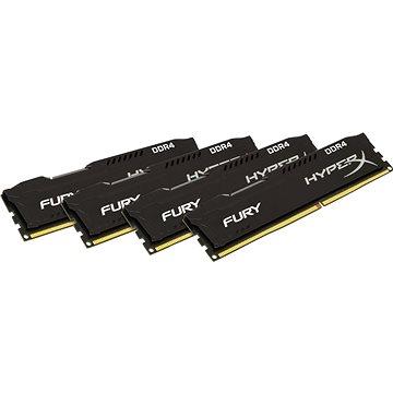 HyperX 64GB KIT DDR4 2933MHz CL17 Fury Black Series (HX429C17FBK4/64)