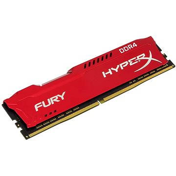 HyperX 16GB DDR4 2400MHz CL15 Fury Red Series (HX424C15FR/16)