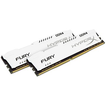 HyperX 16GB KIT DDR4 2400MHz CL15 Fury White Series (HX424C15FW2K2/16)
