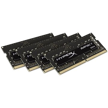 HyperX SO-DIMM 16GB KIT DDR4 2400MHz CL15 Fury Impact Series (HX424S15IBK4/16)