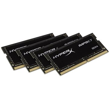 HyperX SO-DIMM 64GB KIT DDR4 2400MHz CL15 Fury Impact Series (HX424S15IBK4/64)