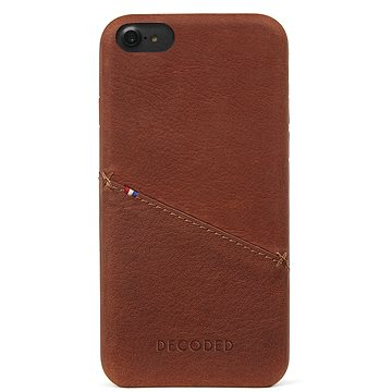 Decoded Leather Case Brown iPhone 7/8 (D6IPO7BC3CBN)