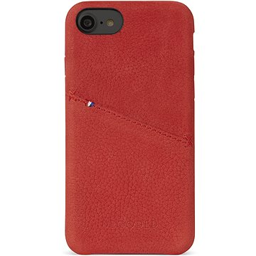 Decoded Leather Case Red iPhone 7/8 (D6IPO7BC3RD)