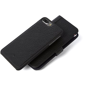 Decoded Leather 2in1 Wallet Case Black iPhone 7+/6s+ (D6IPO7PLWC4BK)